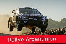 WRC - Ticker: News-Splitter von der Rallye Argentinien