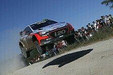 WRC - Paddon schlägt Ogier und gewinnt in Argentinien