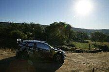 WRC - Volkswagen fängt in Portugal bei Null an