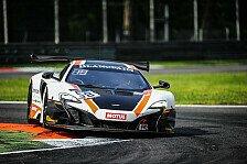 Blancpain GT Series - Monza: McLaren zittert sich zum Sieg