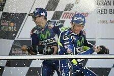 MotoGP - Rossi & Lorenzo: Gemeinsame Jagd auf Marquez