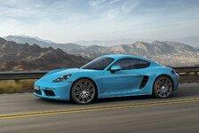 Auto - Porsche zeigt neuen 718 Cayman