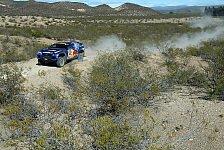 WRC - Rallye Por las Pampas: VW verteidigt Doppelführung vor Mitsubishi