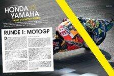 MotoGP - Yamaha vs. Honda im neuen Motorsport-Magazin