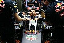 Formel 1 - Red Bull testet Cockpitkanzel in Russland