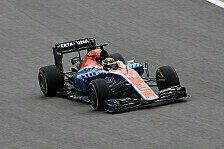 Formel 1 - Wehrlein schöpft Hoffnung: Keine böse Überraschung