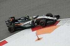 Formel 1 - Force India: Perez punktet beim 100. Rennen