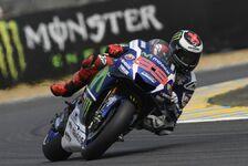 MotoGP - Lorenzo reibt sich Hände: Konkurrenzlos in Le Mans