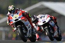 MotoGP - Wieder die Wasserpumpe! Iannone crasht auf Outlap