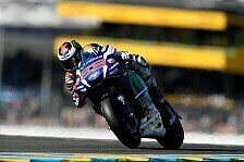 MotoGP - FP4 in Le Mans: Lorenzo in einer eigenen Welt