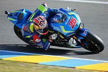 MotoGP - Suzuki-Piloten klagen über Einlenk-Probleme