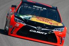 NASCAR - Truex holt Pole Award auf dem Kansas Speedway