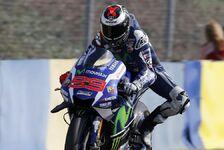 MotoGP - Lorenzo dominiert bei Sturz-Festival in Le Mans