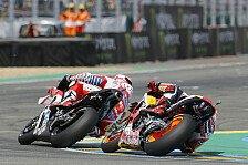 MotoGP - Kurios: Marquez und Dovizioso stürzen parallel