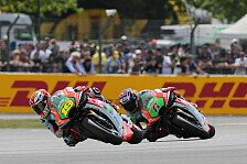 MotoGP - Aprilia bringt Update-Paket in Mugello