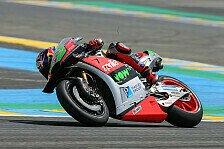 MotoGP - Bradl am Freitag Vorletzter: Basis nicht gut genug