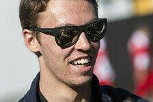 Fix: Daniil Kvyat fährt auch 2017 für Toro Rosso