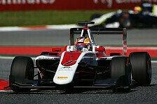 Formel 1 - Ferrari-Junior in England im Haas-Cockpit