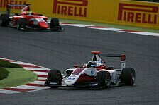 GP3 - Barcelona: Albon feiert Debütsieg in Rennen 2