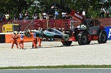 Formel 1 - Mercedes-Crash in Spanien: Alle Reaktionen