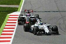 Formel 1 - Williams in Monaco einer Übermacht ausgesetzt