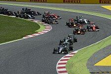 Formel 1 - Mercedes: Das Wiedersehen nach dem Spanien-Crash
