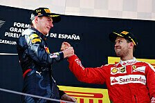 Formel 1 - Vettel vs. Verstappen: Nun gibt es Lob statt Wut
