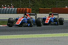 Formel 1 - Wehrlein oder Ocon: Wer macht das Rennen bei Manor?