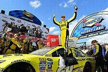 NASCAR - Kenseth bezwingt die Monster Mile