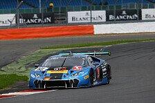 Blancpain GT Series - Top-10 in Silverstone für Patric Niederhauser