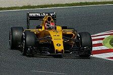 Formel 1 - Vor Mercedes-Debüt: Ocon testet Renault