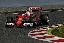 Formel 1 - Barcelona-Tests III, Tag 1: Bestzeit für Vettel