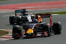 Formel 1 - Barcelona-Tests III, Tag 2: Verstappen schlägt zu