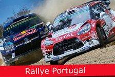 WRC - Ticker: News-Splitter Rallye Portugal 2016