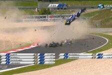 Formel 3 EM - Horrorunfall bei der Formel 3 EM in Spielberg