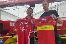 Formel E - Überraschung für Daniel Abt & Holger Badstuber