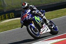 MotoGP - Warm-Up: Lorenzo geht der Motor hoch