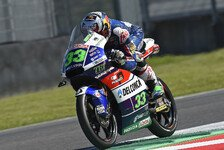 Moto3 - Bastianini holt Pole in Crash-Festival