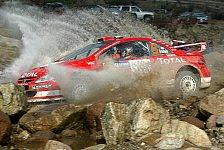 WRC - Shakedown: Markko Märtin Schnellster