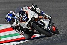 Von Motorrad überrollt: McPhee fast unverletzt - Sturz wie einst Simoncelli