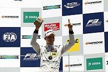 Formel 3 EM - Maximilian Günther: Doppel-Podium in Spielberg