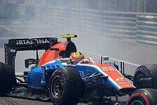 Formel 1 - Nach Manor-Aus: Was wird aus Rio Haryanto?