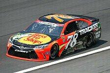 NASCAR - Truex schnappt Logano die Pole weg
