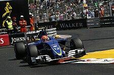 Formel 1 - Sauber geplatzt: Ferrari-Motor streikt in Monaco