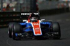 Formel 1 - Wehrlein: Sehe es nicht als Niederlage