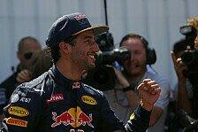 Formel 1 - Erste Pole für Ricciardo - Sieg in Sichtweite