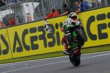 Superbike - Rennen 2: Sykes mit hart erkämpftem Sieg