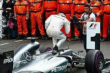 Formel 1 - Bilderserie: Monaco GP - Statistiken zum Rennen