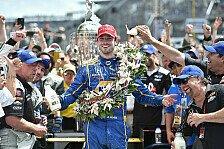 IndyCar - Rookie-Sieg: Rossi gewinnt Indianapolis 500