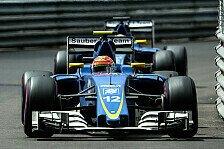 Formel 1 - Monaco-Crash bei Sauber kein Thema mehr
